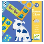 Domino, Farverige dyr.