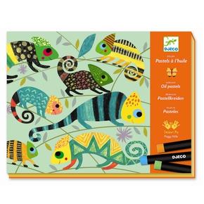 Kreativ tegning, Farverige jungle