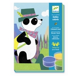 Kreativ æske - Sandbillede, Panda