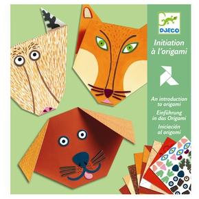 Origami - dyrehoveder.