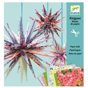 Kirigami stjerner.
