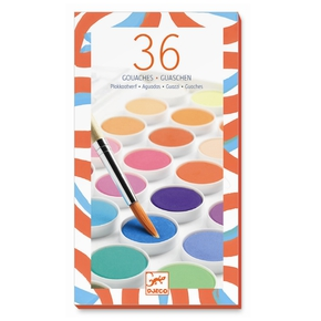 Farvelade – 36 farver.
