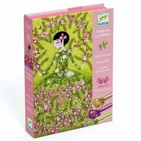 Kreativ æske, glitterkort – Kjoler
