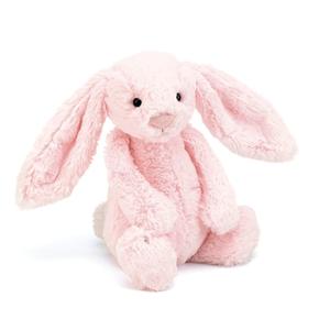 Bashful Kanin, lyserød, mellem 31 cm
