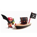 Piratfigur – El Loco
