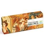 Galleri puslespil – Jomfruer og enhjørninger - 500 brikker
