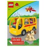 LEGO Duplo - malebog m. stickers Bussen