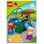 LEGO Duplo - malebog m. stickers Bilen