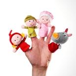 Fingerdukker, lille rødhætte