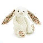 Bashful Kanin Blossom, råhvid mellem 31 cm