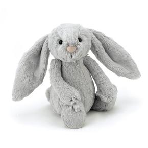 Bashful kanin, silver Mellem 31 cm