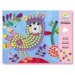 Kreativ æske - Mosaik, Fugl & Mariehøne