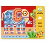 Kreativ æske - Mosaik, Elefant & Snegl
