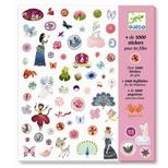 Klistermærker - 1000 for pigerne