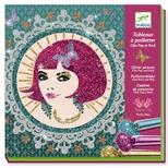 Kreativ æske - Glitterkort, Fine piger