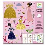 Påklædningsdukkekort, Årstidernes kjoler