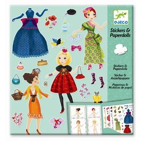 Påklædningsdukkekort, Modetøj