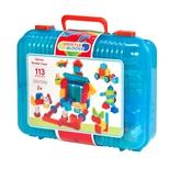 Bristle Block 113 stk i kuffert