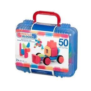 Bristle Blocks 50 stk. i kuffert