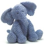 Fuddlewuddle Elefant, kæmpe 44 cm
