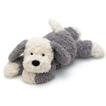 Tumblie Sheepdog hund, mellem 35 cm