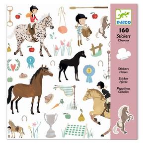 Klistermærker - Heste