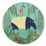 Jungle lille tallerken, ?tapir?