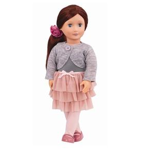 Ayla dukke med nederdel
