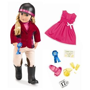 Lily Anna dukke med ekstra tøj