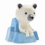 Keramik sparebøsse, Isbjørn