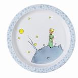 Den lille Prins, tallerken lysebl†