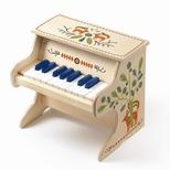 Klaver i træ, med elektronisk lyd