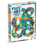Puzz'art Blæksprutte, 350 brikker