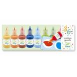 Plakatfarver i flasker