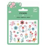 Glimmer klistermærker - Små blomster