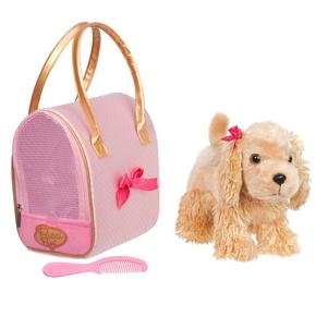 Pucci hund i taske, prikket