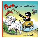 Storm P. Ping går tur med hunden