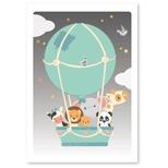Luftballon plakat, 50*70 cm