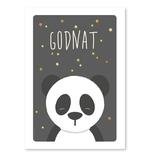 Panda plakat, A4