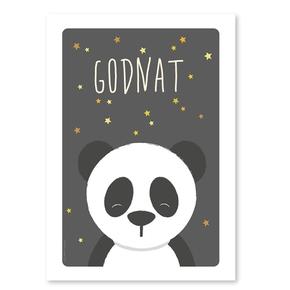 Panda postkort
