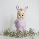 Baby Lapin lampe, lilla 35 cm