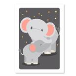 Elefant postkort,uden tekst