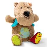 Cæsar bjørn, med lys og musik