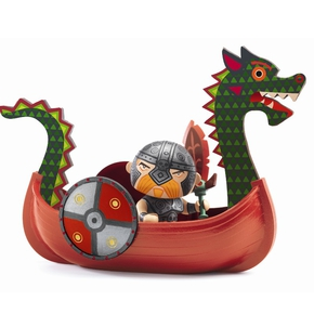 Arty Toys, Drack & Vikingeskibet
