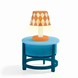 Petit Home, Bord med lampe