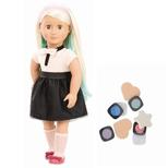 Amya dukke med hårfarver