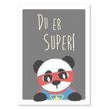 Super panda plakat, A4