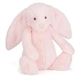Bashful Kanin, lyserød, kæmpe 51 cm