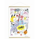 Kakemono plakat, Surf fest