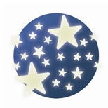 Selvlysende, Stjerner